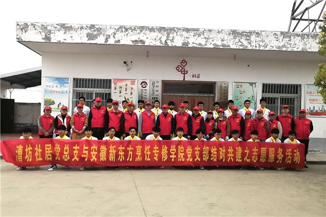 """""""铺平公墓路,爱洒雷锋月"""",安徽新东方党支部的温暖"""