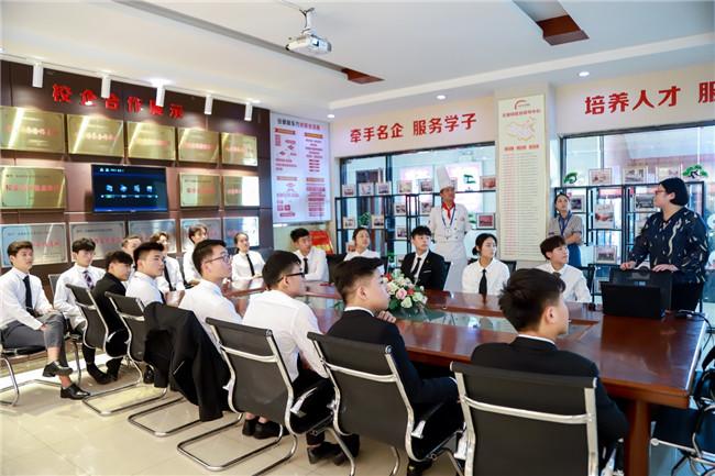 上海奈尔宝来我校进行专场招聘!